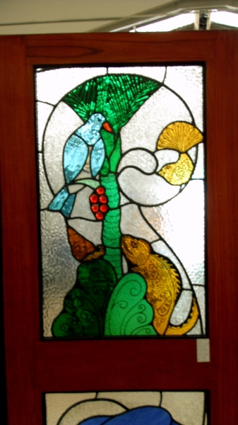 Should stained glass be installed in buildings, is it strong, what about leaks and rattles?